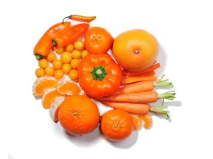 alimentos-naranjas